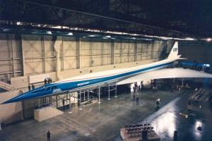 Boeing 2707 supersonic jet