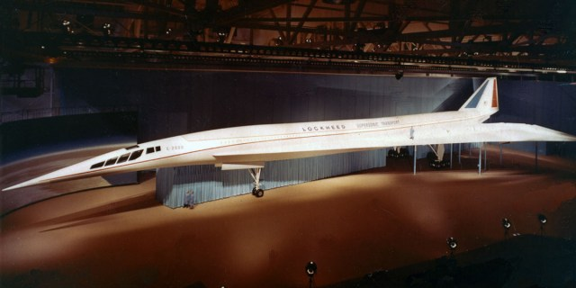 Lockheed L-2000 supersonic jet