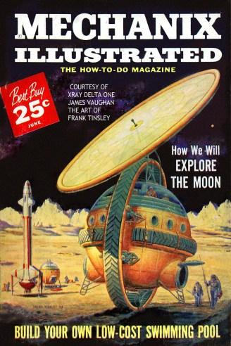 Mechanix Illustrated June 1959 cover