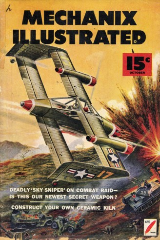 Mechanix Illustrated October 1952 cover