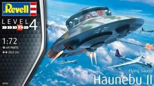 Revell Haunebu II flying saucer cover