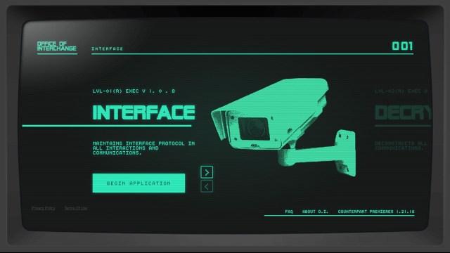 Counterpart scene