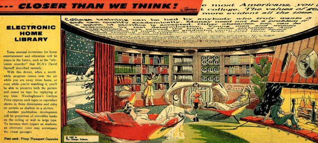 Electronic Home Library comic