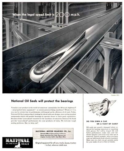 National Motor Bearing advertisement