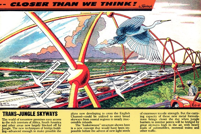 Trans-Jungle Skyways comic
