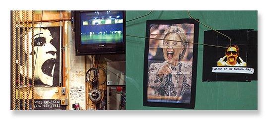 Backstage Pass Catalogue Reg and Hillary