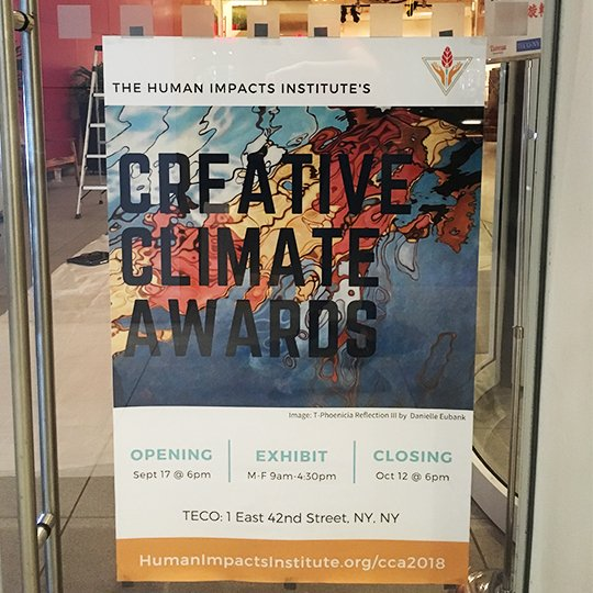 Creative Climate Awards opening