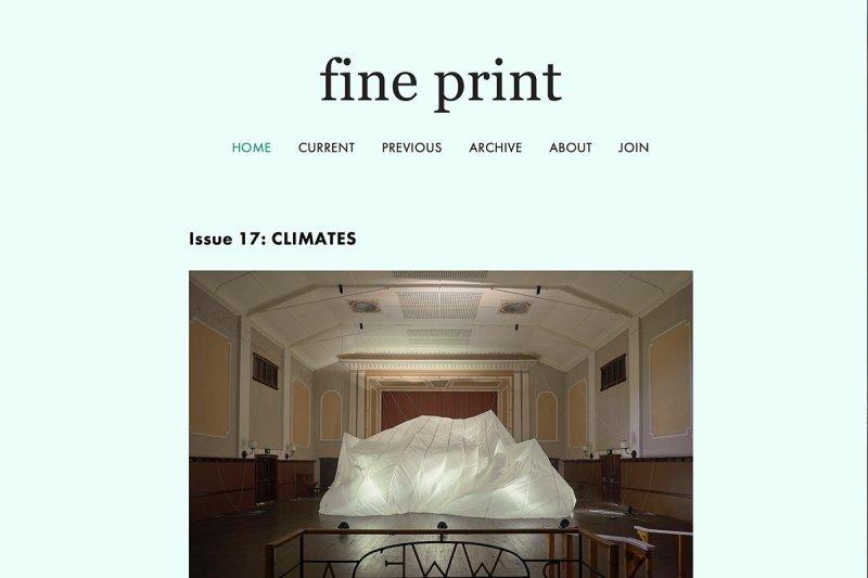 Fineprint climates