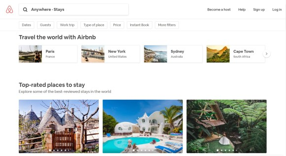 AirBnb for Digital Nomads