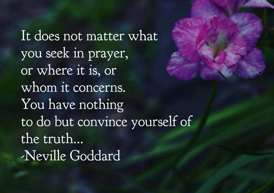 Prayer The Art Of Believing - Free Neville Goddard Download