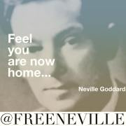 Neville Goddard Feel It Real Quote