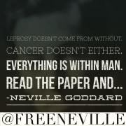 What Causes Cancer by Neville Goddard