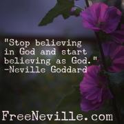 You Are God by Neville Goddard