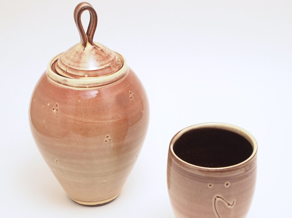 Slipware Ginger Jar
