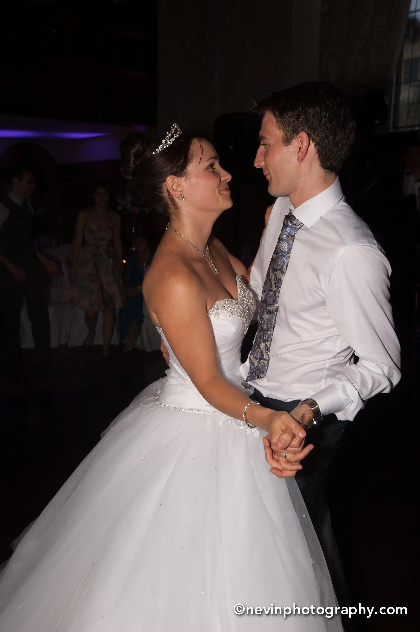 Couples first dance as husband and wife
