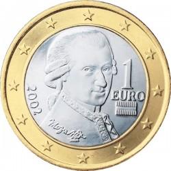 """Монета """"Австрия - 1 евро"""""""