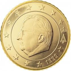 """Монета """"Бельгия - 10 евроцентов (1999-2007)"""""""