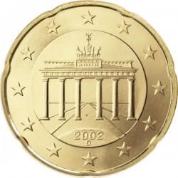 """Монета """"Германия - 20 евроцентов"""""""