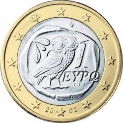 """Монета """"Греция - 1 евро"""""""