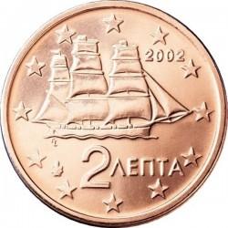 """Монета """"Греция - 2 евроцента"""""""