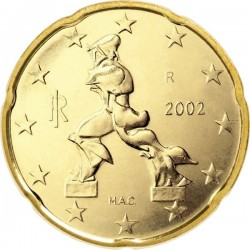 "Монета ""Италия - 20 евроцентов"""