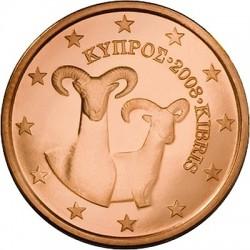 """Описание монеты """"Кипр - 5 евроцентов"""""""