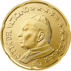 "Монета ""Ватикан - 20 евроцентов (2002-2005)"""