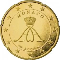 Описание монеты Монако - 20 евроцентов (2006)