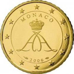 Описание монеты Монако - 10 евроцентов (2006)