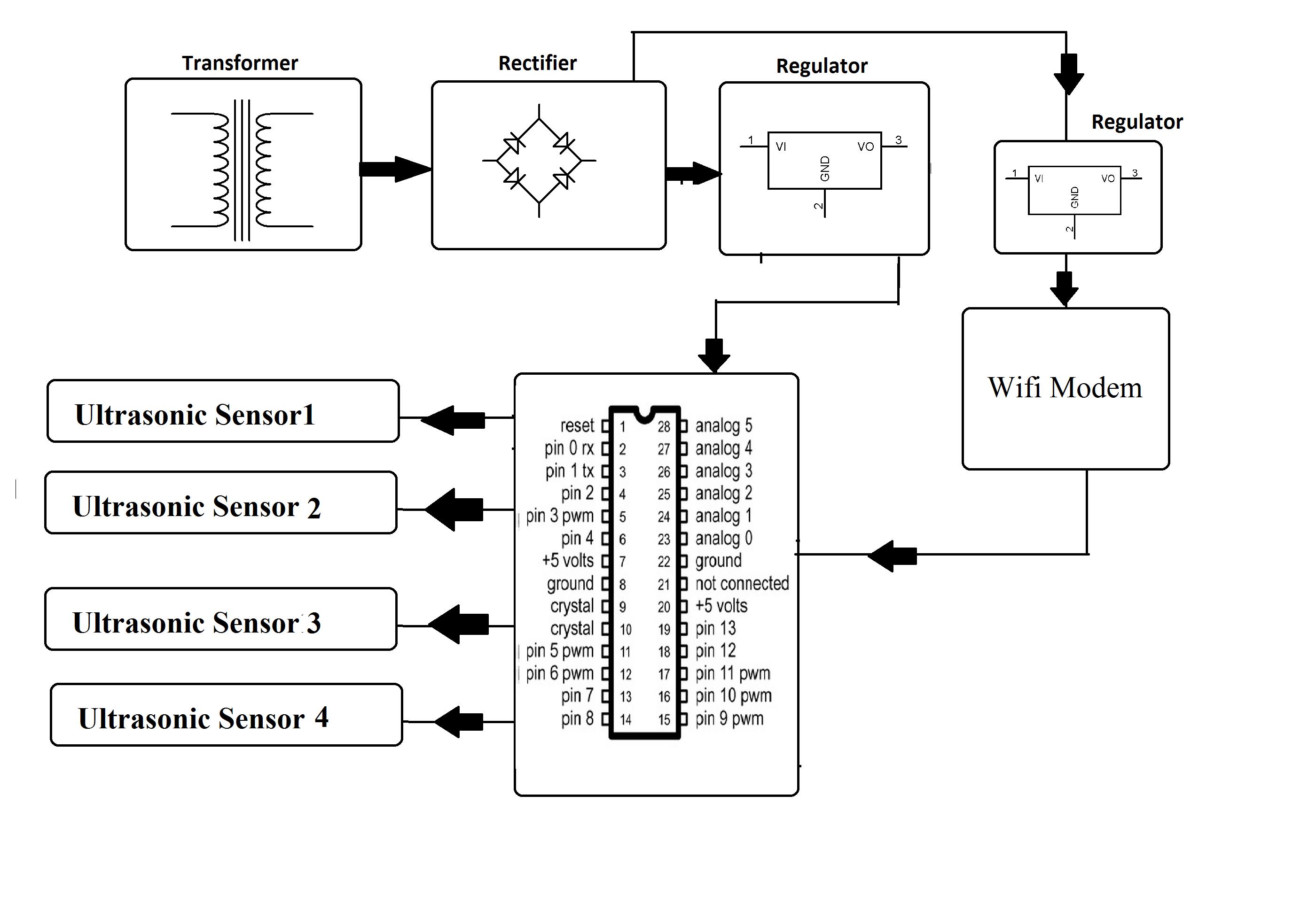 lcd display module diagram of the lcd module