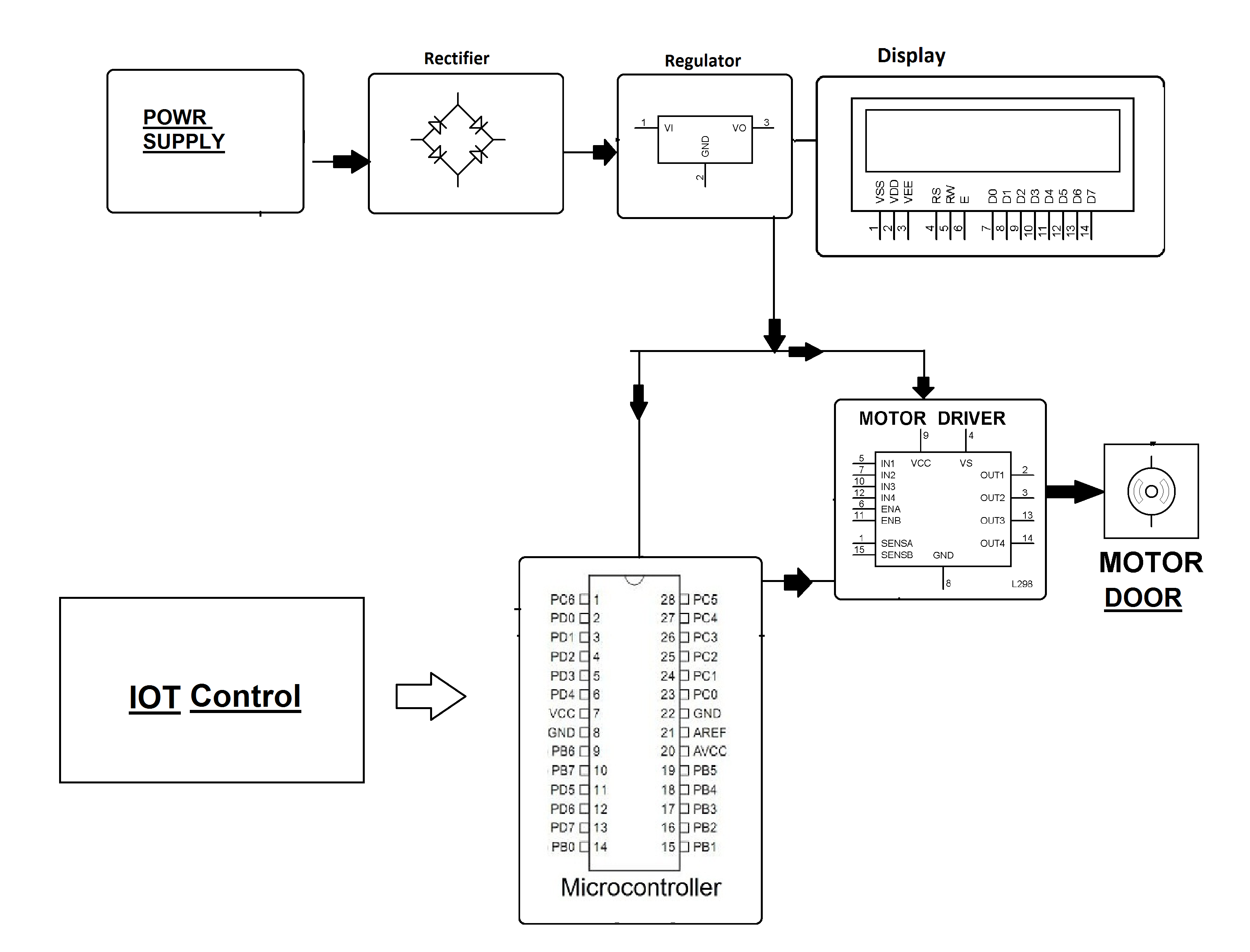 electronic number lock circuit diagram 2003 chevy tahoe bose stereo wiring iot door opener nevonprojects