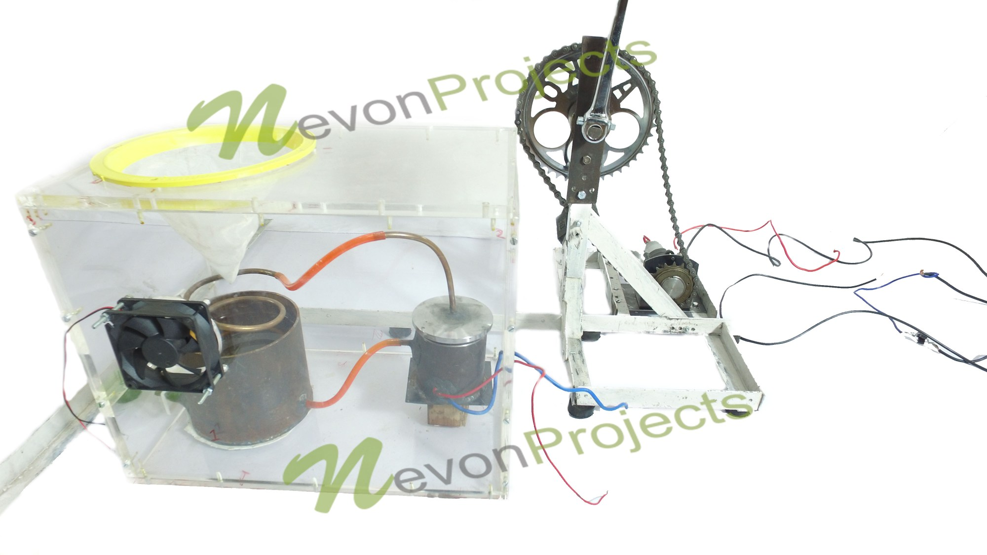 hight resolution of pedal powered water purifier project