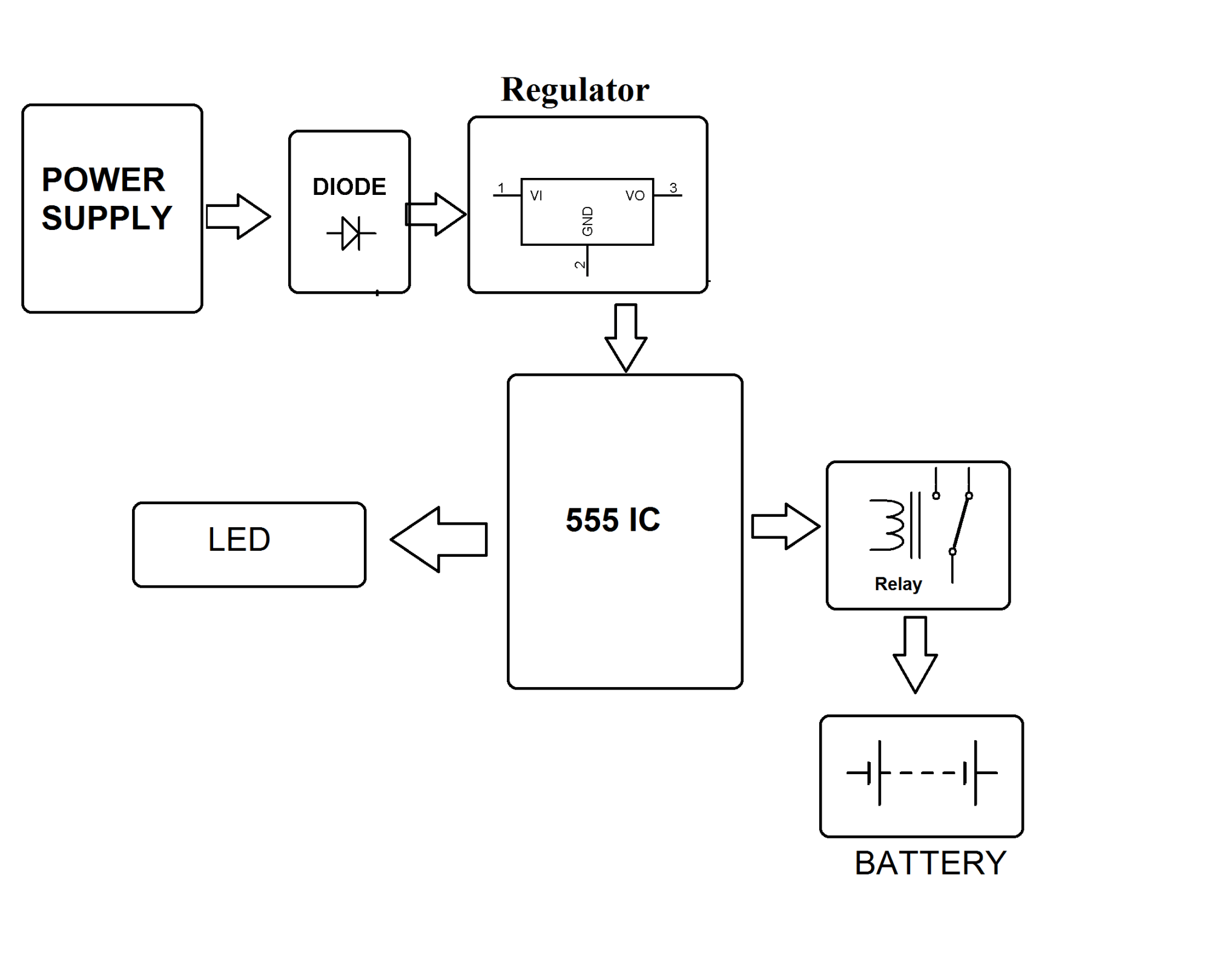 hight resolution of 12 volt battery charging circuit system12 volt charging system diagram 7