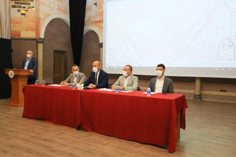 Nevşehir Belediye Meclisi Eylül ayı toplantısı yapıldı