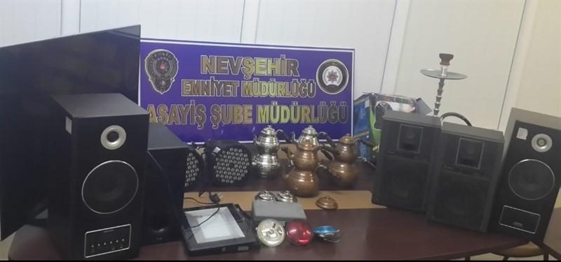 Düğün salonu hırsızları tutuklandı