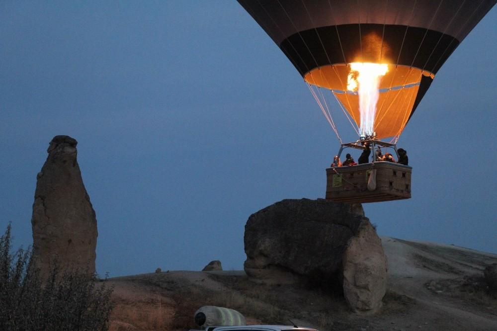 Kapadokya'da balon turları 5 gündür yapılamıyor