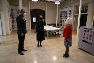 Vali Becel, Kapadokya Üniversitesi Ağız ve Diş Sağlığı Merkezini ziyaret etti