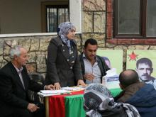 Neighborhood meeting, Qamishlo