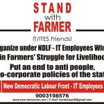 Stand with Farmer! – IT Employees Campaign to Save Farmers!