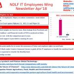 NDLF IT Employees Wing News Letter April 2018
