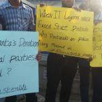 ஸ்டெர்லைட் : மிரட்டல்களை மீறி போராட்ட களத்தில் நின்ற ஐ.டி ஊழியர்கள்