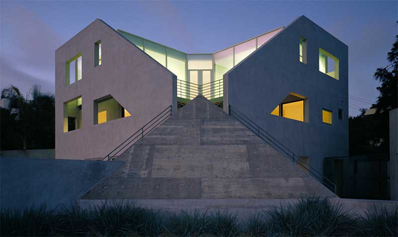 Architecture structure of lines for Rosenthal home designs