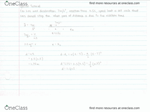 Study Guides for Physics at University of Waterloo (UW