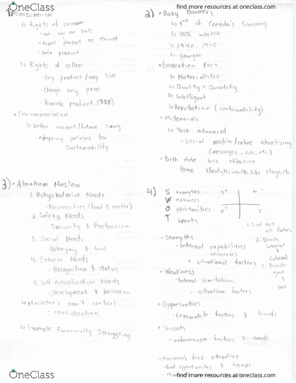 Study Guides for MGMA01H3 at University of Toronto