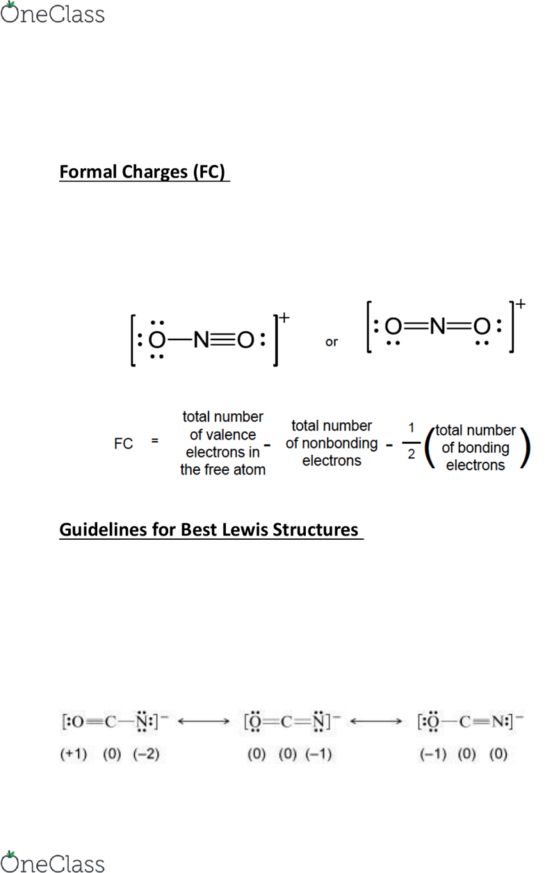 Resonance Structures For Ocn : resonance, structures, CHM120H5, Lecture, Notes, Winter, 2018,, Colligative, Properties,, Lewis, Structure,, Intermolecular, Force