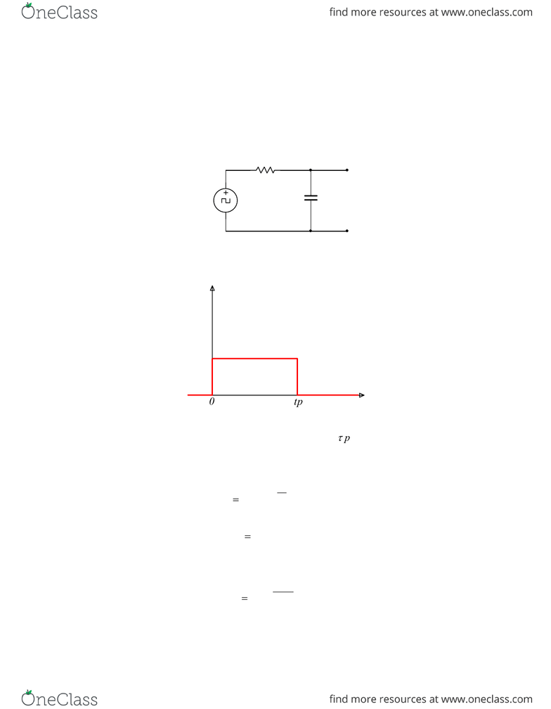hight resolution of examples of transient rc and rl circuits