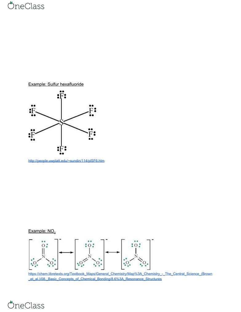 Sulfur Hexafluoride Lewis Structure : sulfur, hexafluoride, lewis, structure, Lecture, Notes, 2018,, Sulfur, Hexafluoride,, Lewis, Structure,, Formal, Charge