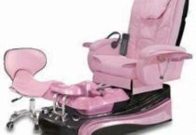 Pink Spa Chair