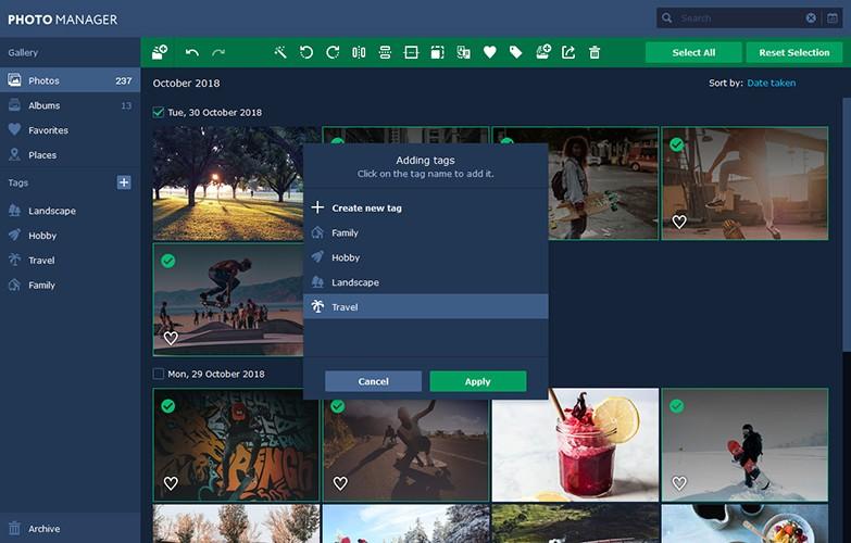 Movavi Photo Manager 2.0 Mac 破解版 简单好用的图片浏览和管理工具
