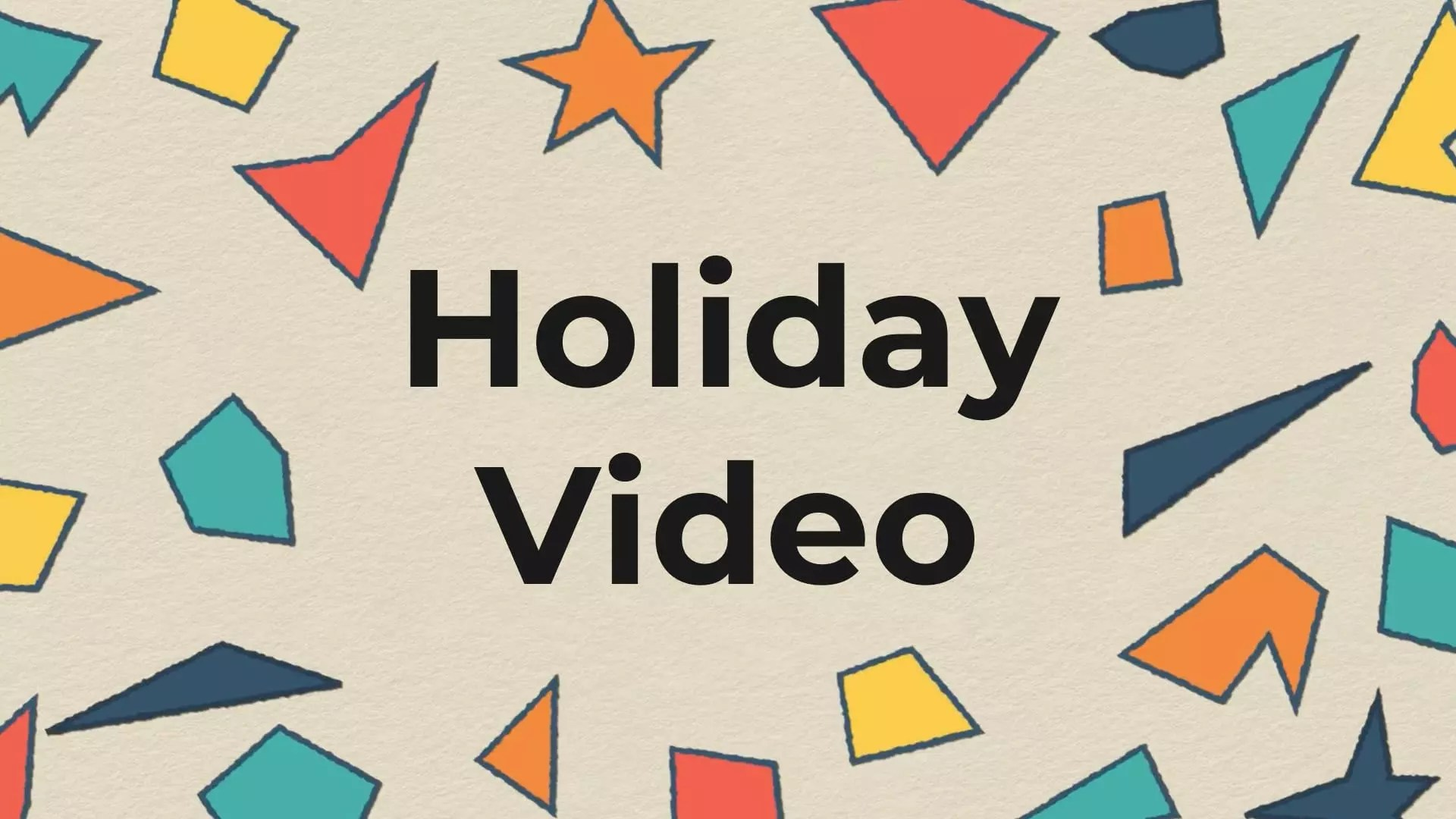 holiday video maker create holiday